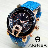 Aigner Bari SKY-02 Leather Blue Ocean