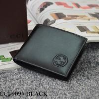 Dompet Gucci Bifold Calf Leather HITAM 909