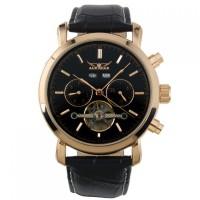 ESS Luxury Men Leather Strap Automatic Mechanical Watch - WM298