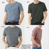 Kaos Two Tone-shirt-tee-kaos Pria-simple-sale-sb