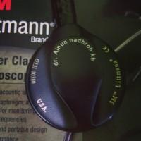 Stetoskop littmann master classic II black edition