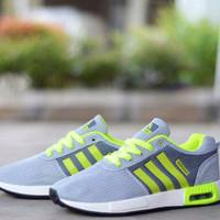 Sepatu Murah Pria Casual Adidas Nmd Runner New Grey Stabilo