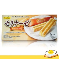 Wafer Stik Rasa Susu N.S | Milk Wafer Stick | Snack Jepang Import 80gr