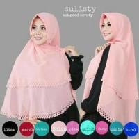 Khimar Sulisty Pad Cutting Laser 2 Layer