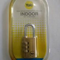 Gembok Koper Nomor Yale 30mm (Y150/30/125/1)