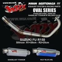 harga knalpot WRX Oval series type race ( FU ) Tokopedia.com