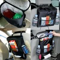 Cooler Bag Car Lemari Es Mobil Panas Dingin / Tempat Tissue All In 1