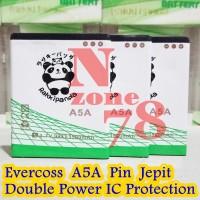 Baterai Cross Evercoss A5A Rakkipanda Double Power Protection