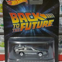 Jual Hotwheels 1:64 Retro Back To The Future Time Machine Mr Fusion Murah