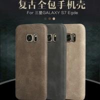 Samsung Galaxy S7 EDGE Cover USAMS Bob Series Leather Case Luxury Soft