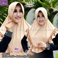 Jilbab Ar Rafi Hijab ArRafi - Jilbab Instan Talita Gothik AR 072 Polos