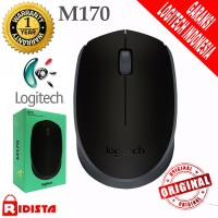 Logitech M170 Mouse Wireles Original ( L066 ) Warna Hitam