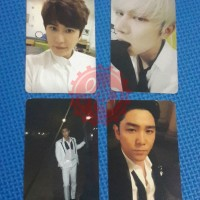 Super Junior Magic Official Photocard Kyuhyun Heechul Siwon Kangin