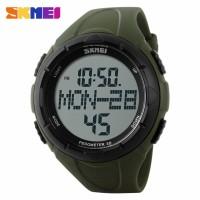 Jam Tangan SKMEI Pedometer 3D Sport Watch Watch Water Resistant 50m