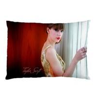 Sarung Bantal Custom Taylor Swift 45x65 cm gambar 2 sisi #121