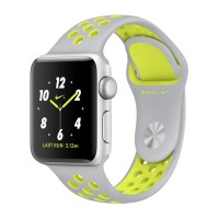 harga Apple Watch Series 2 Nike+ 42mm Silver Alum Case With Silver/volt Tokopedia.com