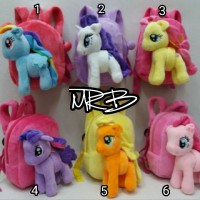 harga Import Tas Ransel Boneka Litte Pony Tokopedia.com