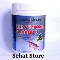 Jual Healthy Care Fish Oil 1000mg Omega 3 - Minyak Ikan Australia Murah