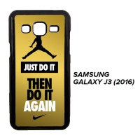 Nike Gold Texture W3437 Casing Samsung Galaxy J3 2016 Custom Case Cove