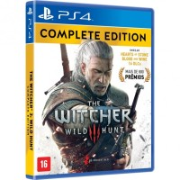 PS4 THE WITCHER 3 Complete Edition (Region 1/USA/English)