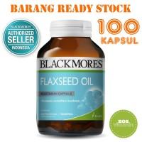 Jual Blackmores Flaxseed Oil BPOM Kalbe - 100 kapsul Murah