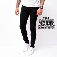4053 Pull & Bear Super Skinny Full Black