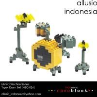nano Block Original: Drum Set NBC-024 MURAH