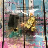 Lego Iron Man Midas / Mark 21 croom GOLD NO BOX Bootleg