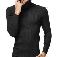 Jual premium men's knitted Pullovers Turtleneck sweater / turtleneck pria Murah