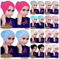 Jilbab / Hijab Inner Rajut 2in1 By Danisha