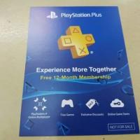 Promo Sony PSN + Playstation Plus 12Month Asia (Ps3 Ps4 Psvita)