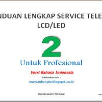 Buku Service TV LCD / LED vol.2 (Profesional)