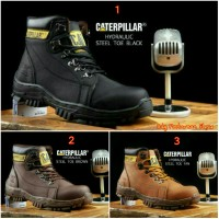 Super Promo!! Caterpillar Hydraulic Brown Safety Boots