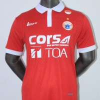 Jersey Persija Home Sponsor TOA 2016/2017 Grade ori official