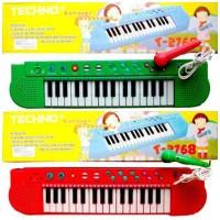 Mainan Piano Techno Karaoke Lagu Anak Indonesia T-2768