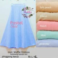 harga Pusat Grosir rok pastel skirt wedgest embos Tokopedia.com