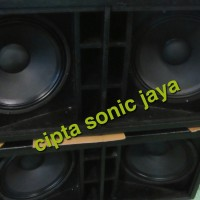 box subwofer speaker 18 inch dobel isi 2 komplit isi L18P300