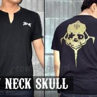 Suzuran Crows | Crows Zero Style | T shirt Genji Skull