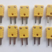 MEDIUM QUALITY KONEKTOR MALE MINI K TYPE K THERMOCOUPLE CONNECTOR