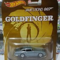 Hotwheels 1:64 Retro James Bond 1963 Aston Martin DB5