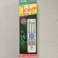 Remote Remot DVD Joker Universal Multi