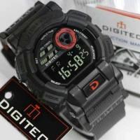 Jam Tangan Digitec DG-2079T Hitam List Merah Digitec 2079 DG-2079