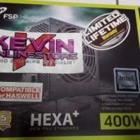 PSU FSP Hexa Plus H2-400w 80 + MURAH BANGET + RESMI !!