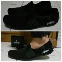 Gratis Ongkir ! Sepatu Pria Casual Slip On / Slop Adidas Men