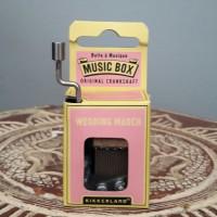 """Music Box """"Wedding March"""" Original Kikkerland"""