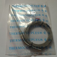 Thermocouple Type Tipe K 0-1250 Probe Stainles Steel 100mm 3 Meter