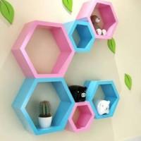 Honeycomb Wall Shelves