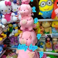 boneka bantal guling babi pig pita xl