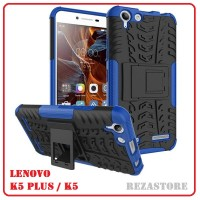 Casing HP Keren Stylish Armor Case For Lenovo Vibe K5 / K5 Plus Biru