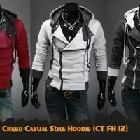 Jaket Anime Game Casual Harakiri Maroon Jacket Hoodie (CT FH 12R)